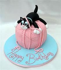 торт для кошки